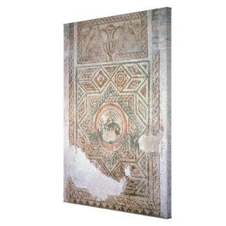 El mosaico de las liebres, ANUNCIO 350 Lona Envuelta Para Galerias