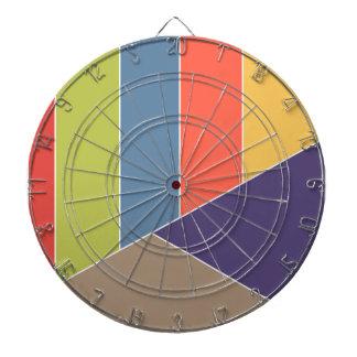 El MOSAICO raya triángulos coloreó I + sus ideas Tabla Dardos