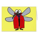 El mosquito del vampiro AF que piensa en usted Tarjetón