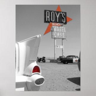 El motel y el café de Roy Impresiones