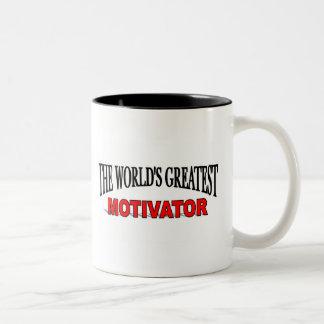 El motivador más grande del mundo tazas