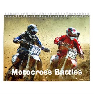 El motocrós del MX lucha el calendario