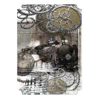 El motor de Steampunk adapta la invitación del
