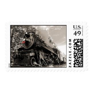 El motor de vapor 1293 los E.E.U.U. sella para Estampillas