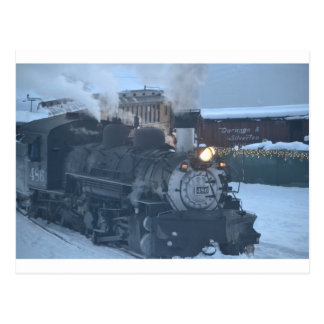 El motor expreso polar tarjeta postal