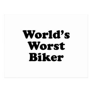El motorista peor del mundo postales