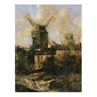 El Moulin de la Galette, Montmartre, 1861 Tarjetas Postales