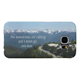 El Mountians está llamando Fundas Samsung Galaxy S6