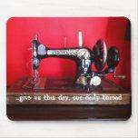 el mousemat del adicto de costura alfombrilla de raton