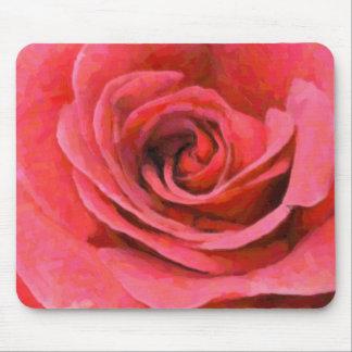 El Mousepad color de rosa perfecto Alfombrillas De Raton