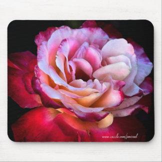 El Mousepad color de rosa Alfombrillas De Raton