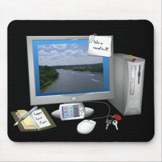 El MousePad de escritorio del escritorio Alfombrilla De Raton