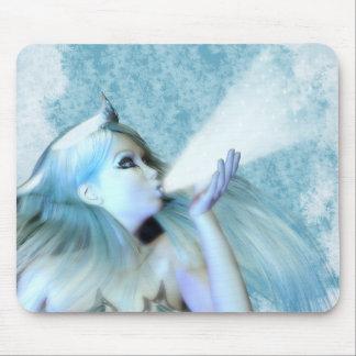 El mousepad virginal de Frost, mousemat Tapetes De Ratón
