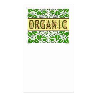 El movimiento en sentido vertical orgánico deja la plantillas de tarjeta de negocio