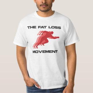 El movimiento gordo de la pérdida remera