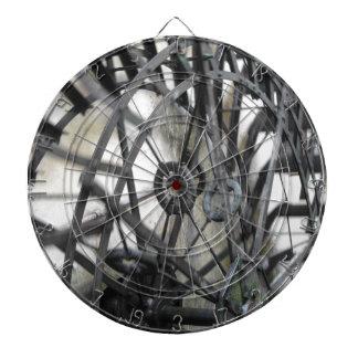 El movimiento rotatorio del agua rueda adentro un