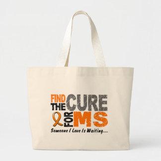 El ms de la esclerosis múltiple encuentra la curac bolsa tela grande