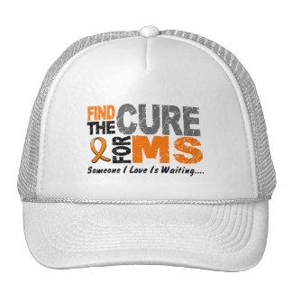 El ms de la esclerosis múltiple encuentra la curac gorra