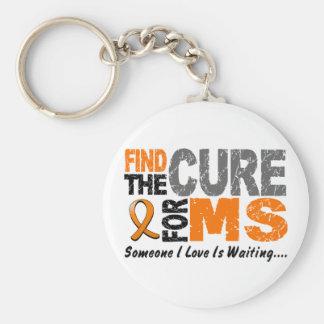 El ms de la esclerosis múltiple encuentra la curac llavero personalizado