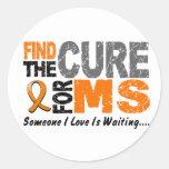 El ms de la esclerosis múltiple encuentra la etiquetas redondas