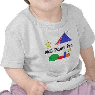 El ms pinta la Favorable camiseta del niño