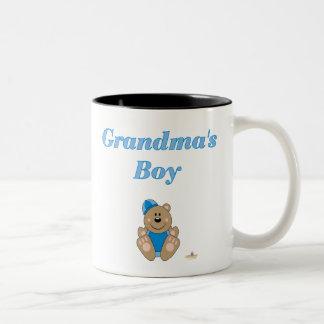 El muchacho de Brown del oso de la nieve de la Taza De Dos Tonos