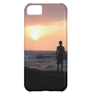 El muchacho de la persona que practica surf funda para iPhone 5C