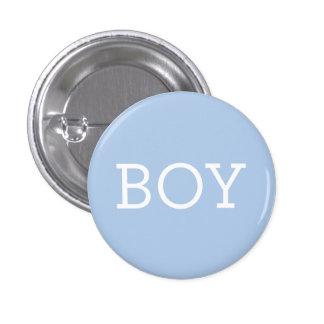 El muchacho en género del bebé del azul el | revel pin redondo 2,5 cm
