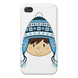 El muchacho lindo adentro Bobble el caso del iphon iPhone 4 Protectores