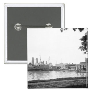 El muelle del Fox, Poner-en-Bahía, Ohio: 1906 Pins