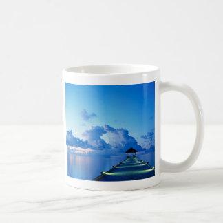 El muelle taza de café