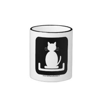 """El mug oficial """"de la Litera del Gato Tazas De Café"""