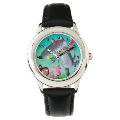 El mún lobo grande reloj