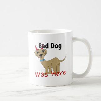 El mún perro estaba aquí taza