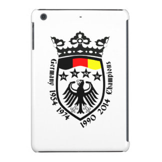 El mundial de Alemania defiende 2014 Funda Para iPad Mini Retina