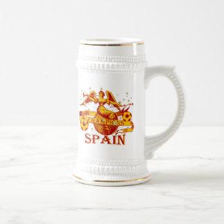 El mundo 2010 de España defiende el fútbol de Jarra De Cerveza