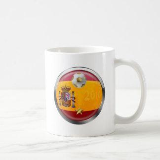 El mundo 2010 de España defiende los regalos de un Taza De Café