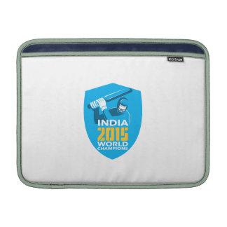 El mundo 2015 del grillo de la India defiende el Funda Macbook Air