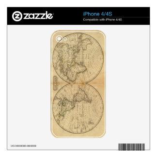 El mundo 2 iPhone 4 calcomanía