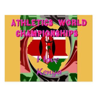 El mundo atlético defiende las tarjetas de Kenia Postal