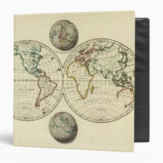 """El mundo con límites continentales carpeta 1 1/2"""""""