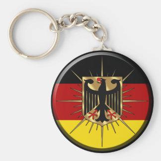 El mundo de Alemania Fussball Deutschland defiende Llavero