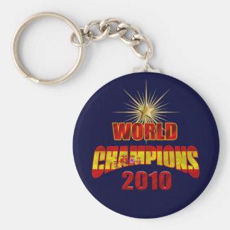 El mundo de España defiende 2010 Llavero Redondo Tipo Pin