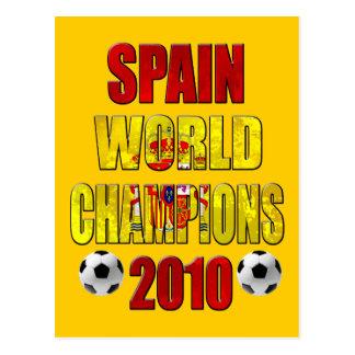 El mundo de España defiende 2010 regalos españoles Tarjetas Postales