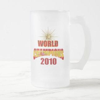 El mundo de España defiende 2010 Tazas De Café