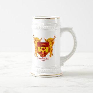 El mundo de Espana defiende el escudo 2010 de Jarra De Cerveza