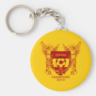 El mundo de Espana defiende el escudo 2010 de Vuvu Llavero Redondo Tipo Pin