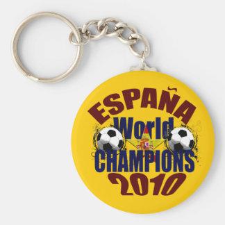 El mundo de Espana defiende la bandera de España Llavero Redondo Tipo Pin