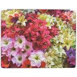 El mundo de flores cubierta de iPad