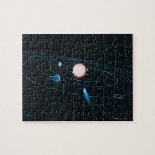 El mundo de la Sistema Solar interna Puzzles